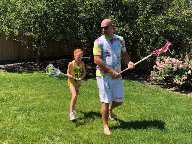 LAX Legend John Grant Jr. Returns To The Field For His Daughter