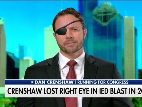 Daniel Crenshaw, Wounded Navy SEAL, Running for Congress in Texas