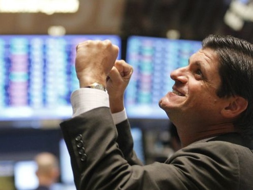 Dow Hits Record 24,000, Europe Jumps As Euphoria Returns After Tech Rout