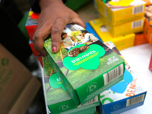 Watch Your Waistlines – Girl Scout Cookie Season Is Here