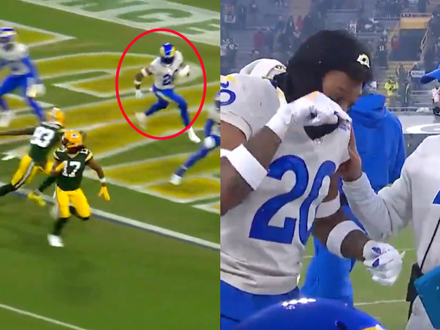 The Packers tricked Jalen Ramsey on this brilliant touchdown pass
