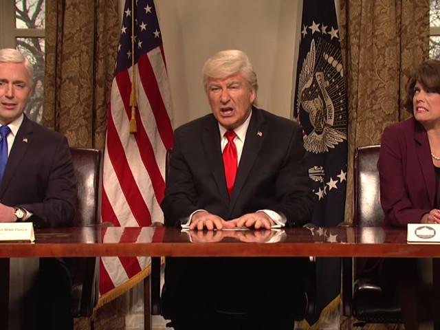 'SNL,' with Alec Baldwin as Trump, addresses gun control after Parkland school shooting