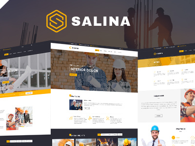 Salina - Construction Joomla Template With Page Builder (Business)