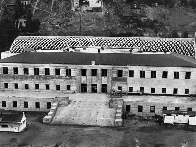 From the Archives: The U.S. Naval and Marine Corps Reserve Training Center in Chavez Ravine