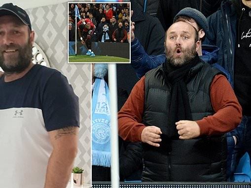 Manchester City fan accused of making monkey sounds at United star Fred is family man, 41
