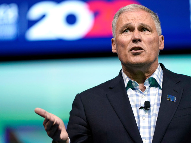 Jay Inslee Has a Plan to Spend $1.2 Trillion to Fight Climate Change and Inequality