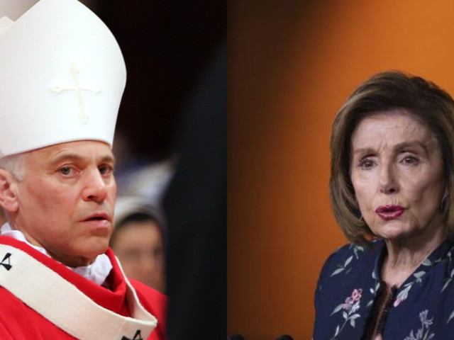 Nancy Pelosi's archbishop eviscerates her over abortion support, openly questions her 'devout' faith
