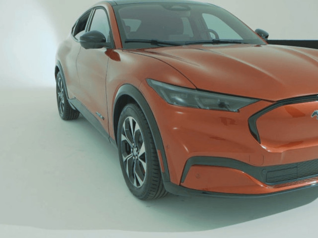 Ford Mustang Mach E Photo Leaked