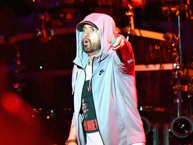 Eminem's publisher sues Spotify for copyright infringement over 'Lose Yourself' and other tracks