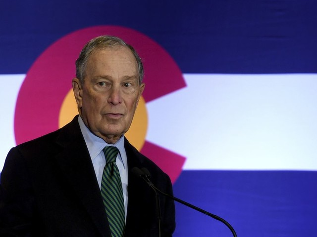 Michael Bloomberg says Donald Trump would 'eat up' rest of 2020 Democratic presidential field