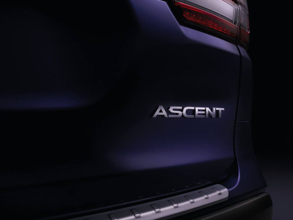 Subaru will reveal the Ascent 3-row crossover at the L.A. Auto Show