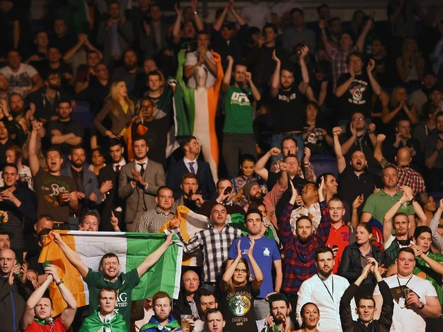 UFC announces first show in Dublin since 2015