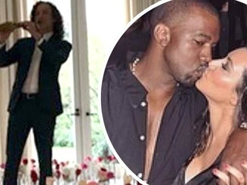 Kim Kardashian delighted when Kanye West decorates their home in roses and has Kenny G perform