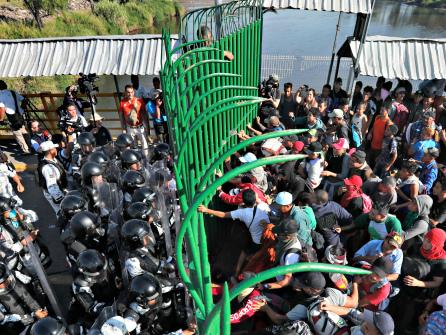 Donald Trump Creates Border Wall in Guatemala