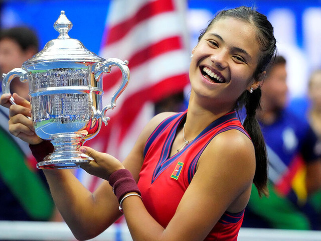 Advantage joy: Teenage US Open tennis champ vs. world's woes