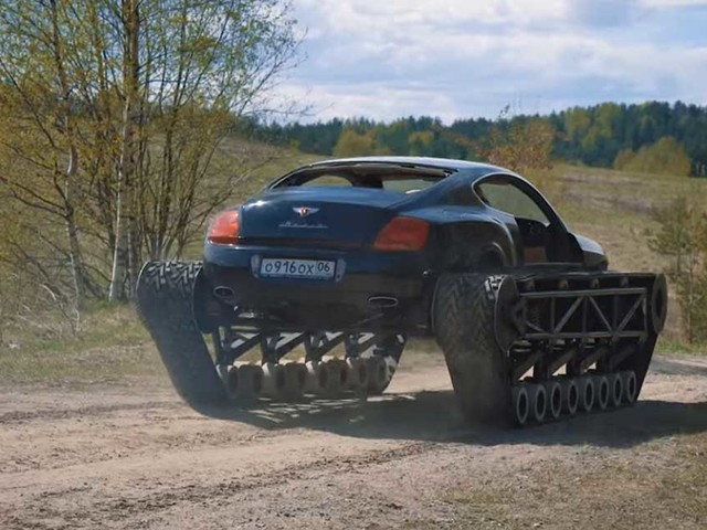 Russian Bentley is literally built like a tank