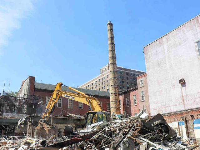 Demolition begins at future site of controversial development in Boerum Hill