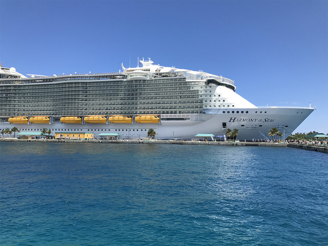 Tropical Storm Dorian changes itineraries of Allure, Harmony and Symphony of the Seas