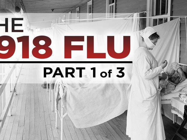 """The History of the 1918 Flu Pandemic, """"The Deadliest Epidemic of All Time"""": Three Free Lectures from The Great Courses"""