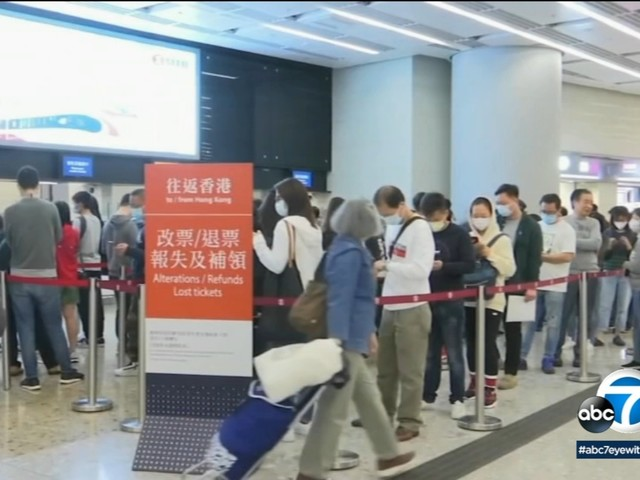Jet carrying US consulate employees from Wuhan, China headed to Ontario amid coronavirus concerns