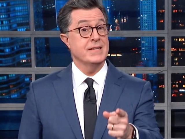 Colbert Reveals The Not-So-Secret Word That Activates 'Weird Grandpa' Trump