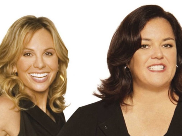 Rosie O'Donnell didn't hate Elisabeth Hasselbeck. She had a crush on her