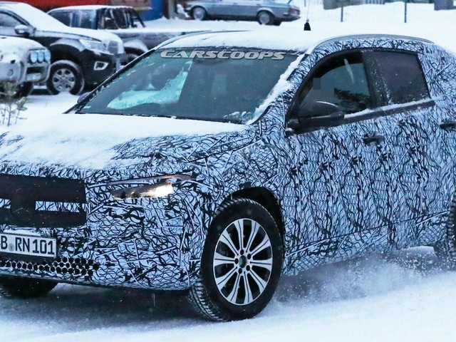 Looks Like The 2021 Mercedes-Benz EQA Will Be A Crossover After All