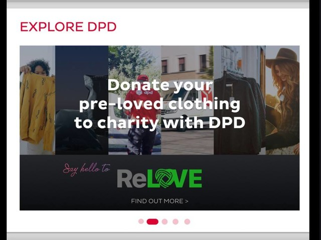 DPD teams up with Asos to collect pre-loved clothing for free
