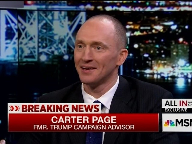 Sorry Sessions: Carter Page tells House Intelligence panel Sessions knew about his Russia trip
