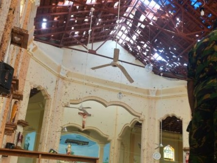 Exclusive: Sri Lankan Priest on Picking Up the Pieces After Surviving Easter Bombing