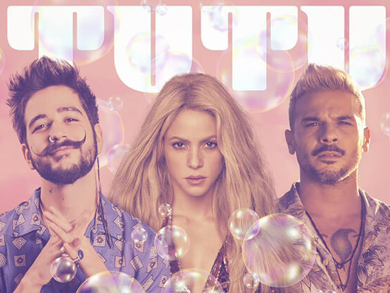 "Shakira Teams Up With Camilo & Pedro Capó For ""Tutu"" Remix"