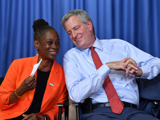 Just seven mayors to attend Chirlane McCray's annual ThriveNYC conference