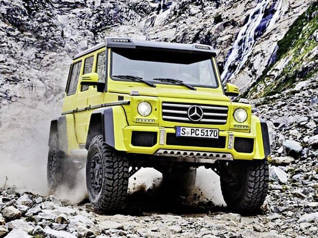 Time To Say Goodbye To The Mercedes G500 4×4 Squared