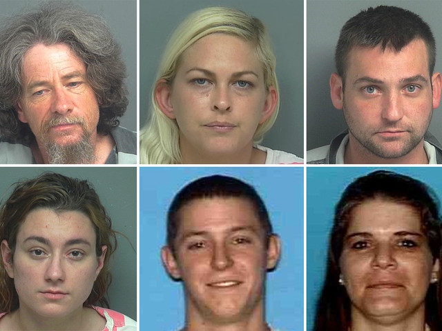 Help nab these wanted fugitives in Houston's suburbs