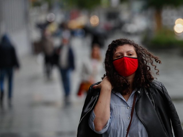 WHO now says everyone should wear a mask when social distancing isn't possible