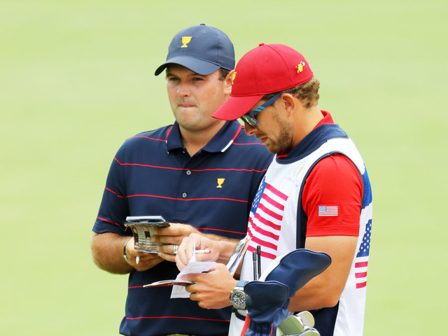 Patrick Reed's caddie punches fan at Presidents Cup: Report