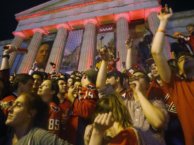 In D.C.'s biggest sports moment in years, the Capitals delivered
