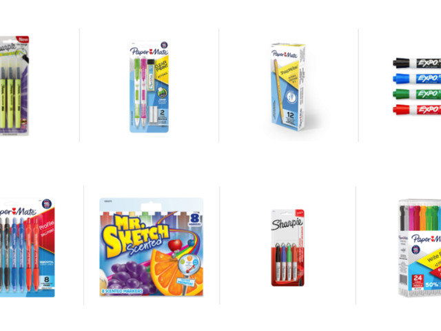 Save $10 for every $25 spent on Papermate, Sharpie, Expo, and More at Amazon