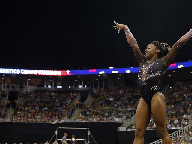 Simone Biles keeps raising the bar in a sport that failed her