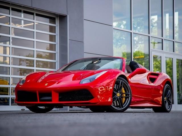 2018 Ferrari 488--Spider Base