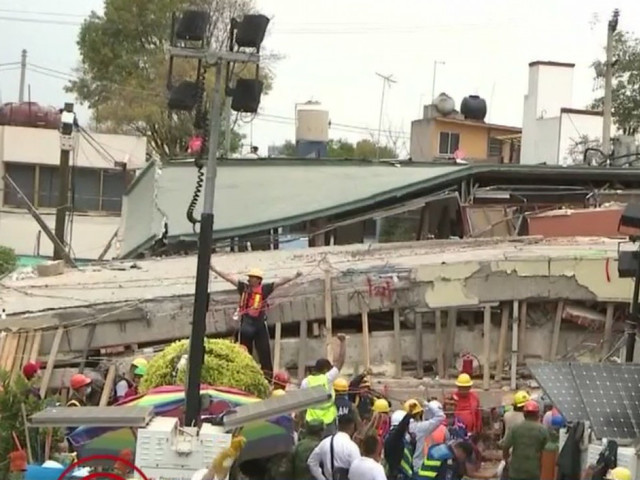 Children Still Trapped In Collapsed Mexico City School