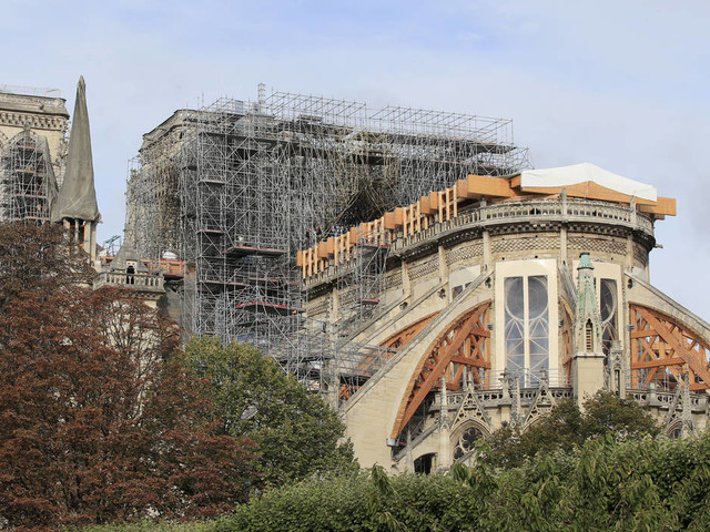 Removal of Notre Dame's melted scaffold to begin in weeks