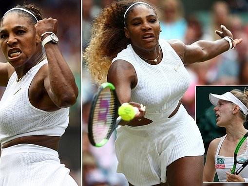 Serena Williams reaches semi-finals at Wimbledon with win against Alison Riske