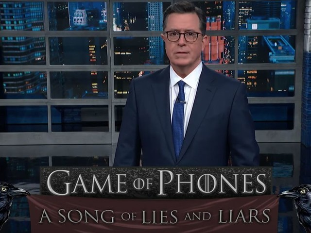 Stephen Colbert has a brutal 'Game of Thrones' analogy for the impeachment hearings