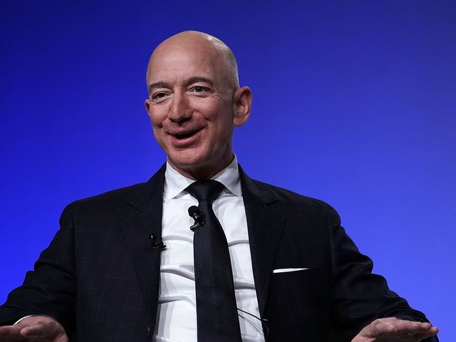Jeff Bezos defends spending his Amazon billions on space travel