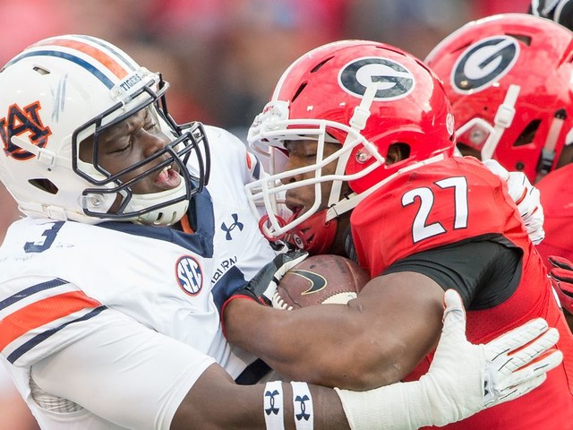 The Georgia vs. Auburn live blog, with notes, updates, scores, and more throughout Saturday's biggest game