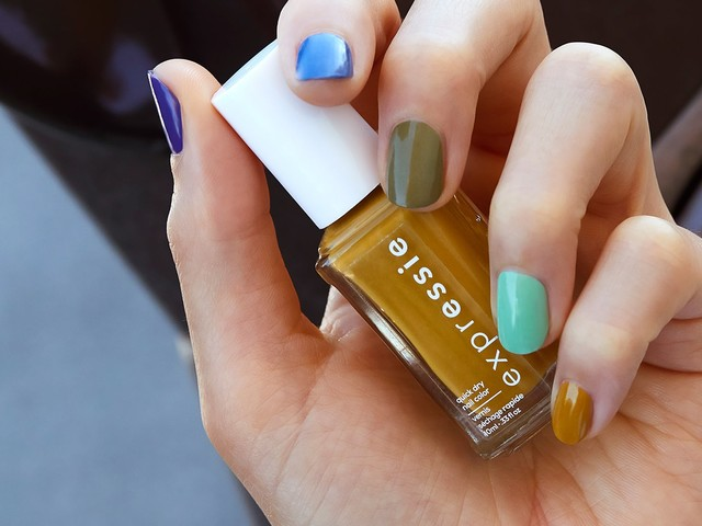 Essie Just Dropped 40 Quick-Dry Polishes — & We Tried Them First