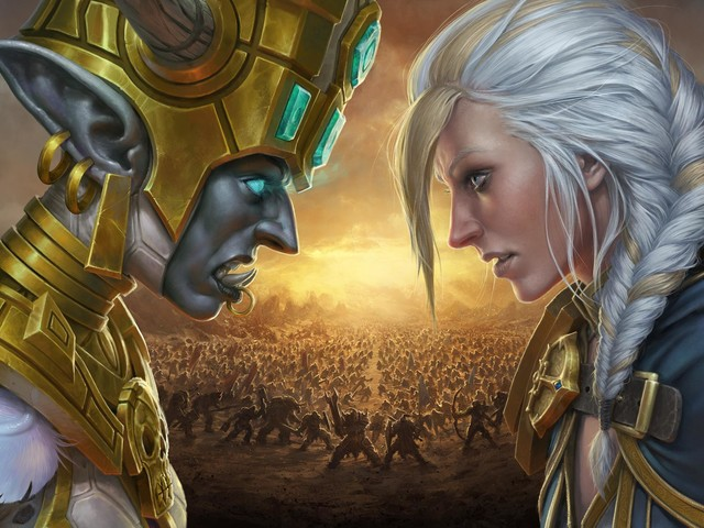 Blizzard's Battle for Azeroth Launch Trailer and Concept Art