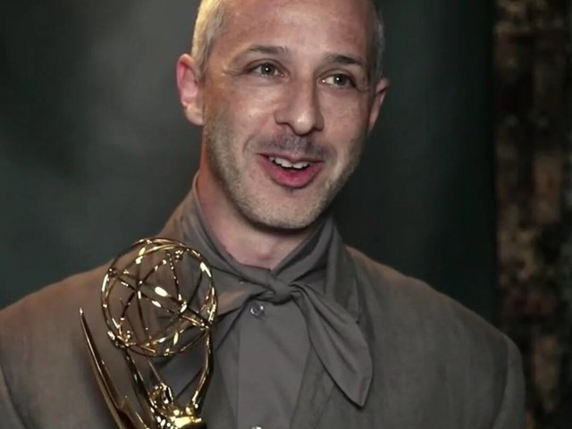 Succession's Jeremy Strong Shares His Emmy Award With Co-Star Brian Cox