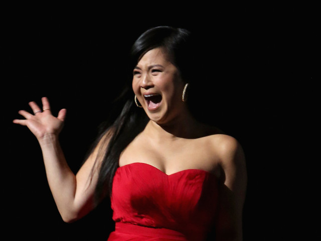Kelly Marie Tran Breaks Down At 'The Last Jedi' Premiere And Now We're Crying